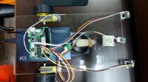 """P24 โครงงาน """"Cleaning robot (หุ่นยนต์ทำความสะอาด)""""  โรงเรียนวัดหย่วนวิทยา  จังหวัดพะเยา"""